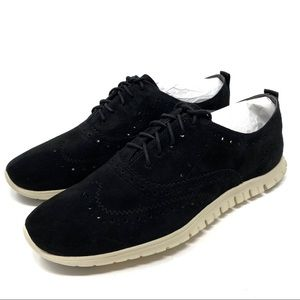 Cole Haan Zerogrand Oxford Black Shoes